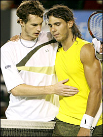 nadal murray Andy, if not now, when?