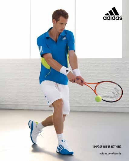 andy murray tennis shoes. AnDIDAS | lovetennisblog.com